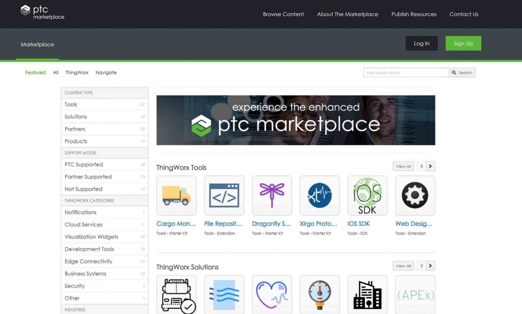 PTC marketplace